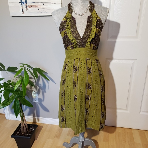 FREE PEOPLE cotton dress, size 6